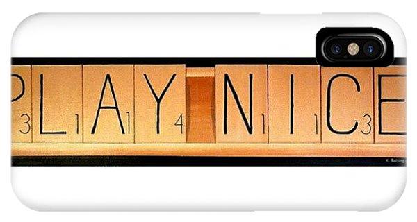 Nerd iPhone Case - Play by Karyn Robinson