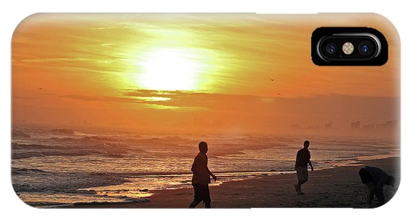 Play On The Beach IPhone Case