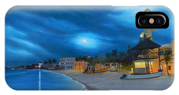Playa De Noche IPhone Case