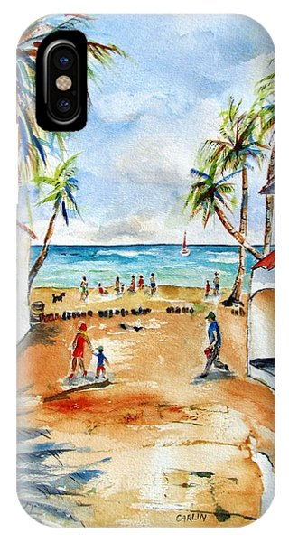 Playa Del Carmen IPhone Case