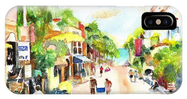 Playa Del Carmen Mexico Shops IPhone Case
