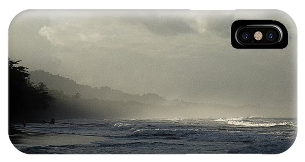 Playa Negra Beach At Sunset In Costa Rica IPhone Case