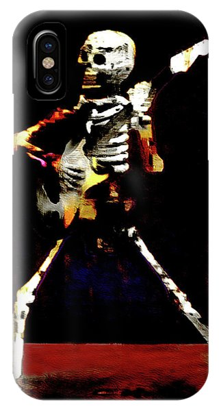 IPhone Case featuring the photograph Player by Jeff Gettis