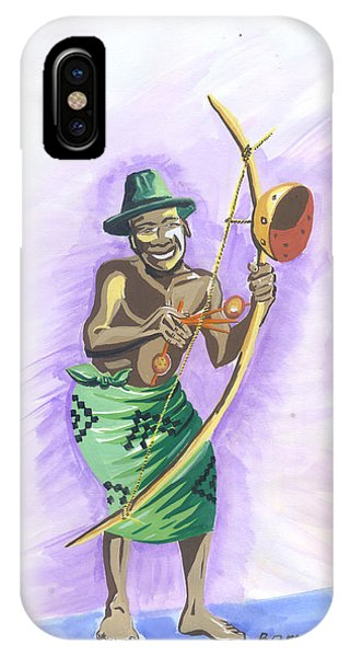 Player Umuduri From Rwanda IPhone Case