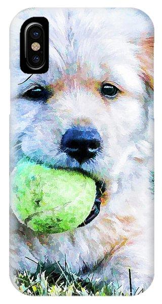 Playful Pup IPhone Case