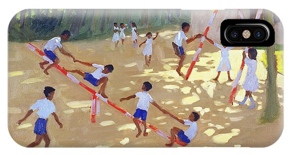 See iPhone Case - Playground Sri Lanka by Andrew Macara