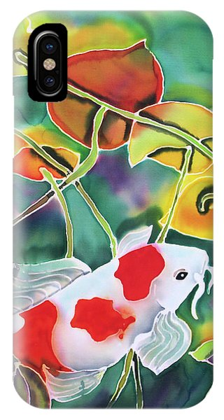Playing Koi IPhone Case