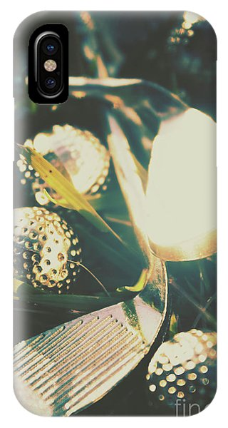 Iron iPhone Case - Playing The Golfing Field by Jorgo Photography - Wall Art Gallery