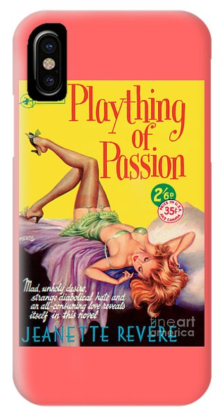 Plaything Of Passion IPhone Case