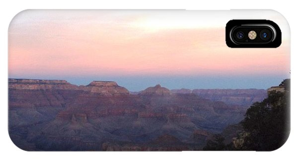 Pleasant Evening At The Canyon IPhone Case