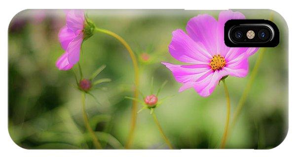 Pleasant Summer Wild Flowers IPhone Case