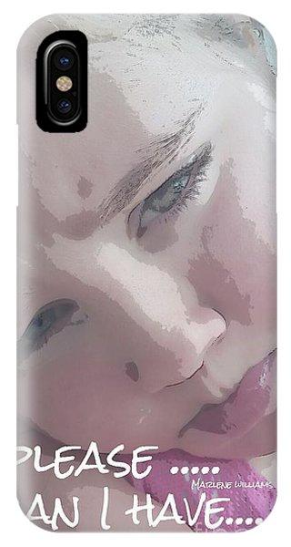 Please IPhone Case