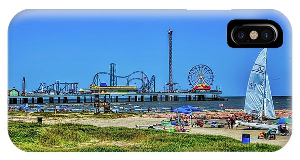 Pleasure Pier Sunny Day IPhone Case
