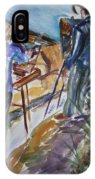 Plein Air Painters - Original Watercolor IPhone Case