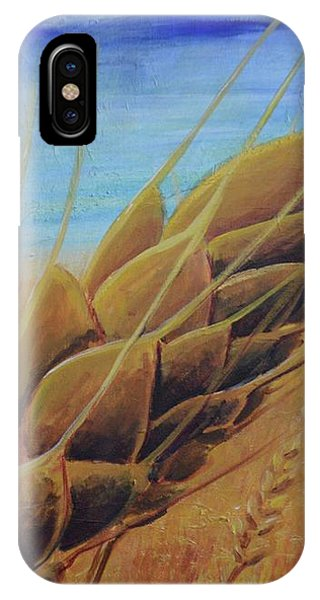 IPhone Case featuring the painting Plentiful Harvest by Lisa DuBois
