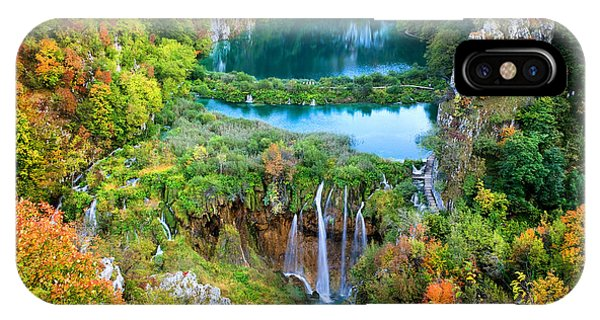 Plitvice Lakes In Croatia IPhone Case