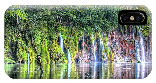 Plitvice Lakes IPhone Case