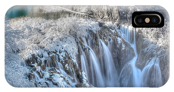 Plitvice Winter IPhone Case