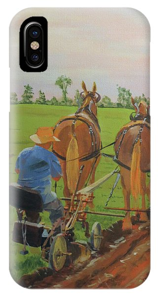 Plowing Match IPhone Case