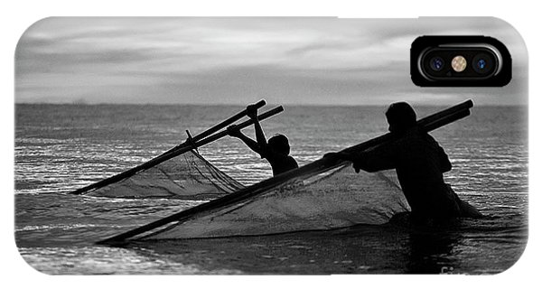 Plowing The Sea - Thailand IPhone Case