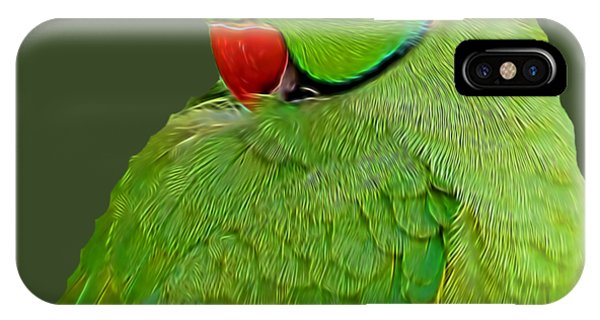 Plucking My Feathers IPhone Case