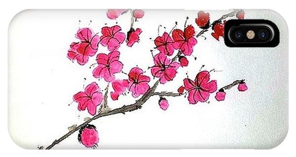Plum Blossoms IPhone Case