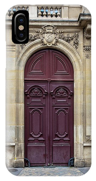 Plum Door - Paris, France IPhone Case