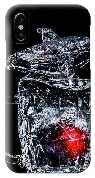 Plum Splash IPhone Case
