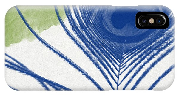 Peacock iPhone Case - Plumage 3- Art By Linda Woods by Linda Woods