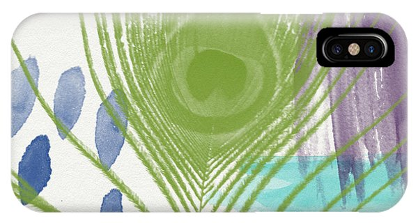 Feathers iPhone Case - Plumage 4- Art By Linda Woods by Linda Woods