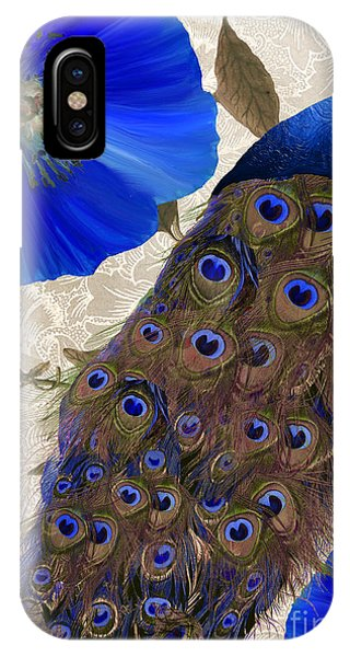 Peacock iPhone Case - Plumage by Mindy Sommers