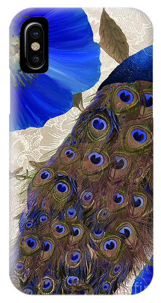 Cobalt Blue iPhone Case - Plumage by Mindy Sommers