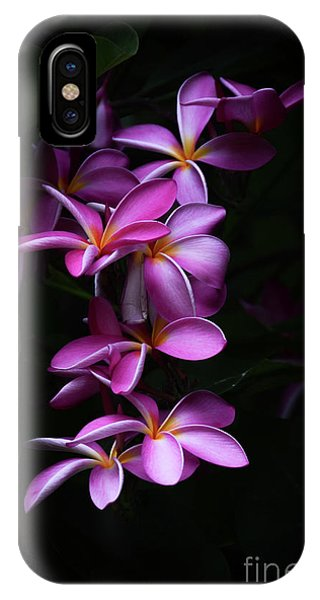 Plumeria Light IPhone Case