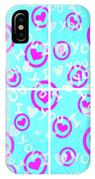 Plus D'amour IPhone Case