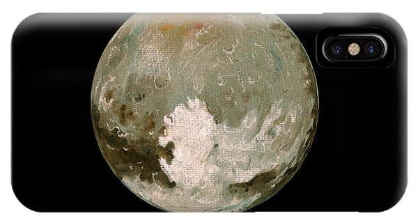 Nasa iPhone Case - Pluto Planet  by Juan  Bosco
