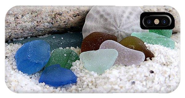 Plymouth Beach Treasures IPhone Case