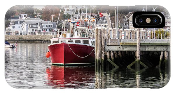 Plymouth Town Harbor  IPhone Case
