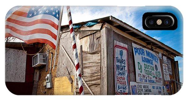Po Monkeys Lounge Merigold Mississippi IPhone Case