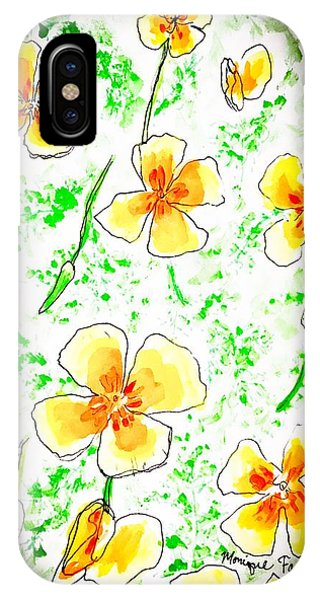 Pocket Full Of Poppies IPhone Case