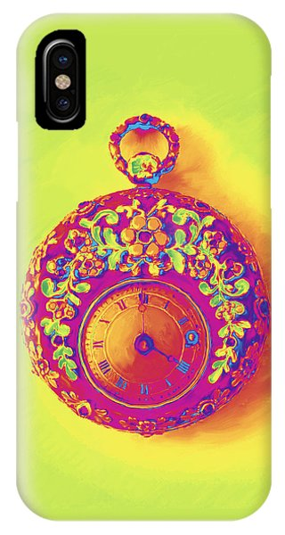 Pocket Watch 1830 IPhone Case
