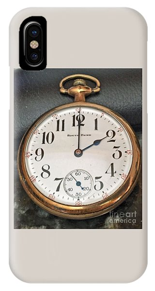 Pocket Watch IPhone Case