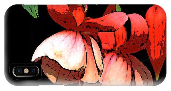 Pod Flower B IPhone Case
