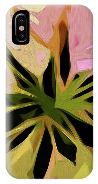 Poinsettia Tile IPhone Case