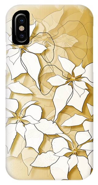 Poinsettias IPhone Case