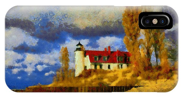 Point Betsie Lighthouse IPhone Case
