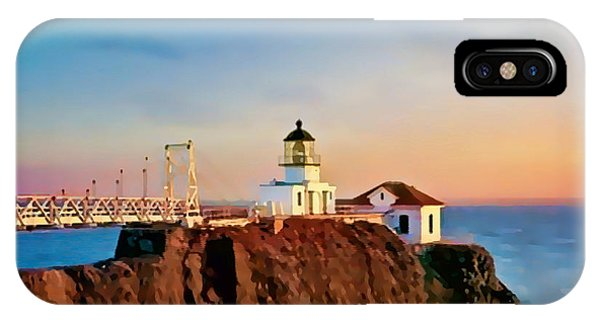 Point Bonita Lighthouse IPhone Case