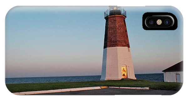 Point Judith Lighthouse Rhode Island IPhone Case