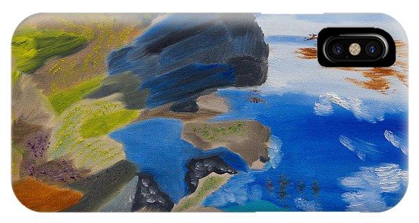 Cliffs Of Point Lobos Ca IPhone Case