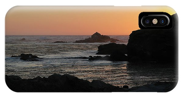 Point Lobos Sunset IPhone Case