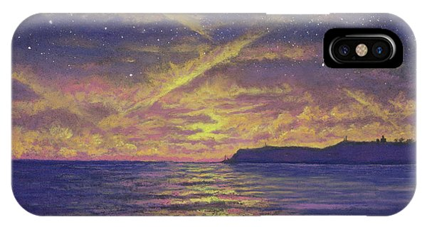 Point Loma Sunset 01 IPhone Case